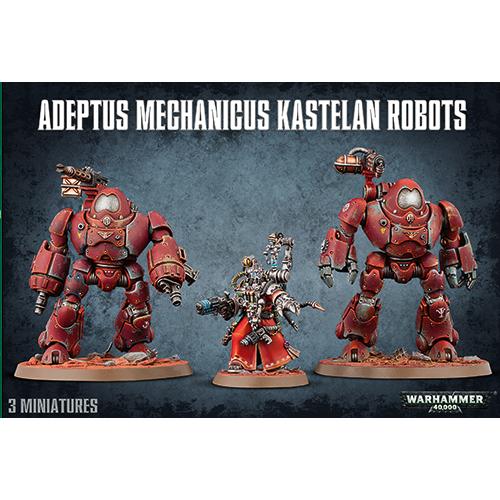 Warhammer: Adeptus Mechanicus Kastelan Robots