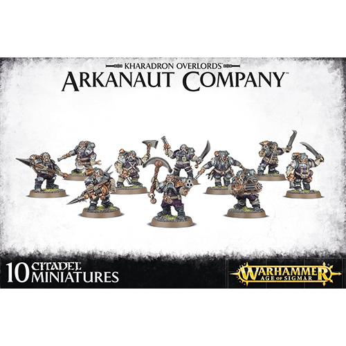 Warhammer: Kharadron Overlords Arkanaut Company