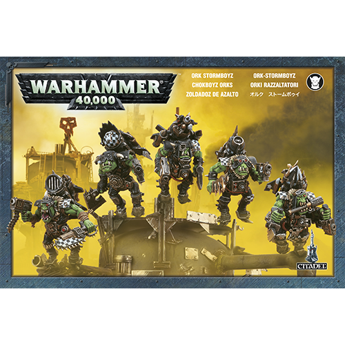 Warhammer: Ork Stormboyz