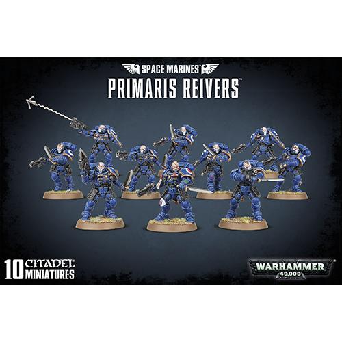 Warhammer: Space Marines Primaris Reivers