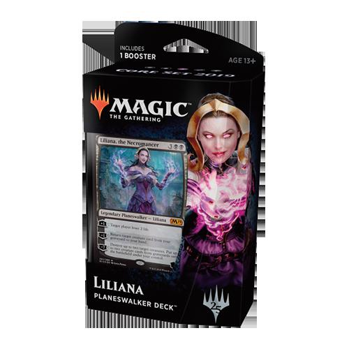 Magic: the Gathering - Core Set 2019 Planeswalker Deck - Liliana