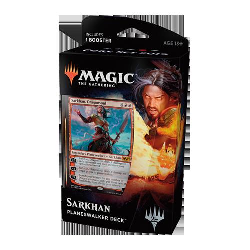 Magic: the Gathering - Core Set 2019 Planeswalker Deck - Sarkhan