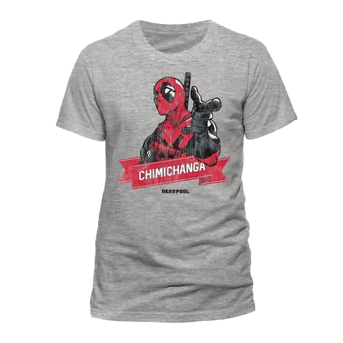 Tricou: Deadpool - Chimichanga Point S imagine