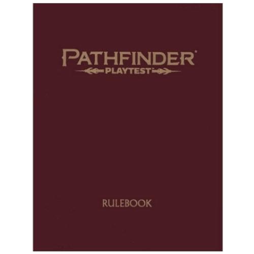 Pathfinder RPG 2nd Ed: Playtest Rulebook (Special Edition)