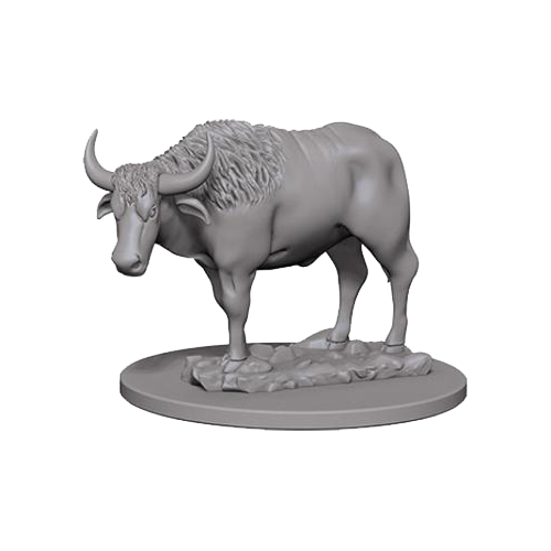 Pathfinder Unpainted Miniatures: Oxen
