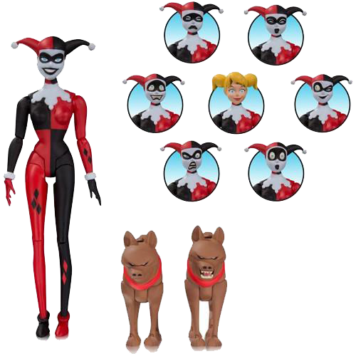 Batman Animated Harley Quinn Expressions Pack imagine