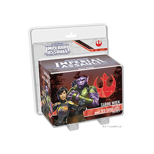 Star Wars: Imperial Assault – Sabine Wren and Zeb Orrelios Ally Pack