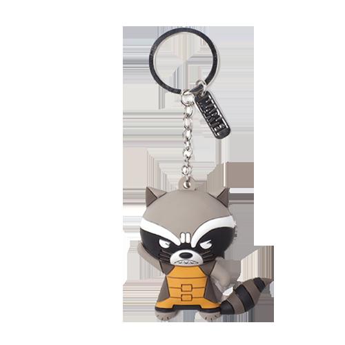 Breloc de cauciuc: Marvel - Raccoon Character 3D Rubber