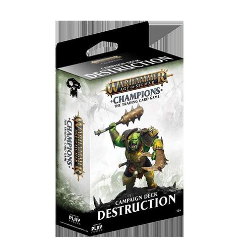 Warhammer Age of Sigmar: Champions - Destruction