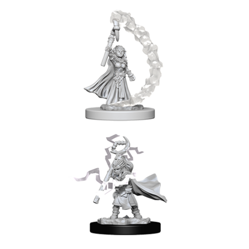 Pathfinder Unpainted Miniatures: Gnome Female Sorcerer