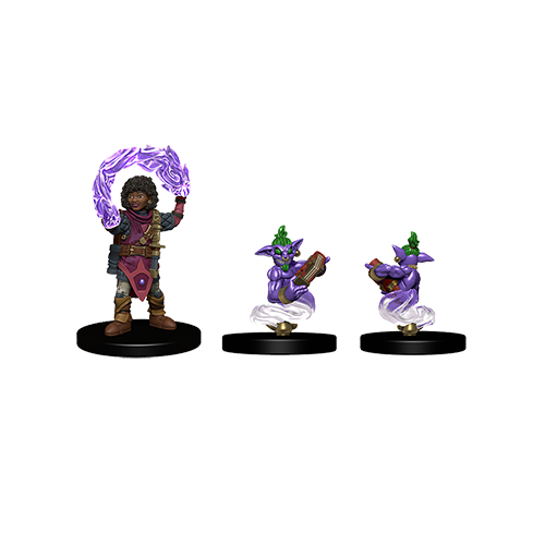 D&D Wardlings: Girl Wizard and Genie