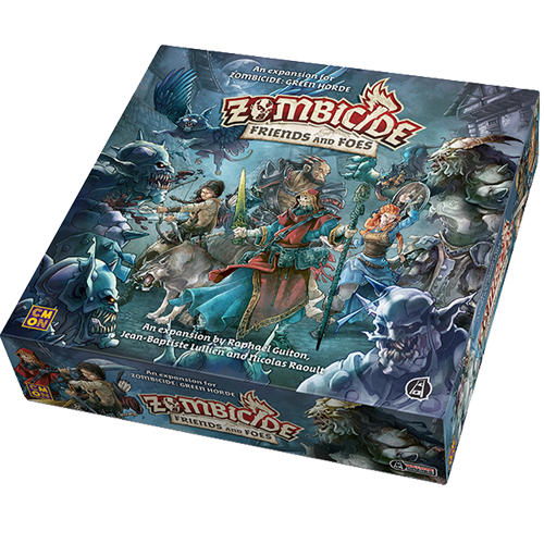 Zombicide Green Horde: Friends and Foes imagine
