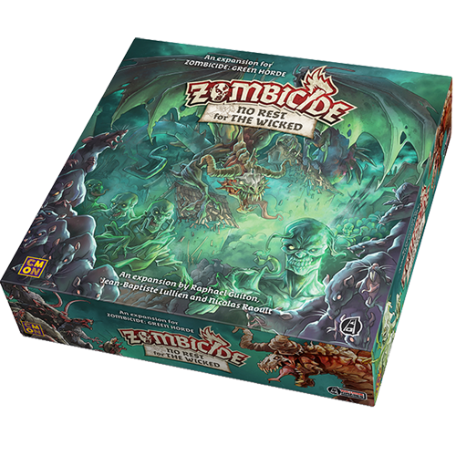 Zombicide Green Horde: No Rest For The Wicked imagine