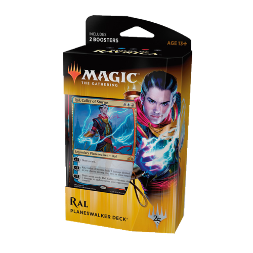 Magic: the Gathering - Guilds Of Ravnica: Planeswalker Deck - Ral, Caller of Storms