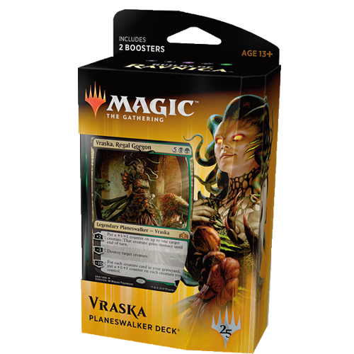 Magic: the Gathering - Guilds Of Ravnica: Planeswalker Deck - Vraska, Regal Gorgon