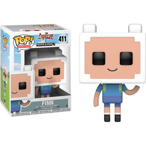 Funko Pop: Adventure Time/Minecraft S1 - Finn
