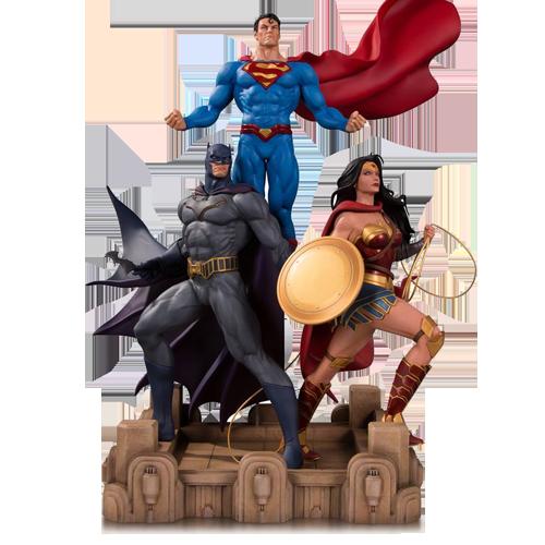 Figurina: DC Designer Series Trinity by Jason Fabok