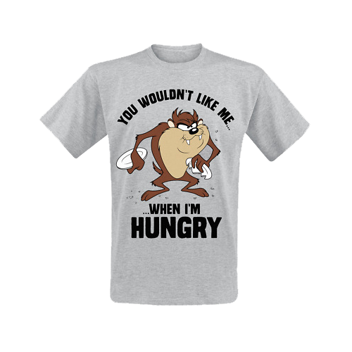 Tricou: Looney Tunes - Taz Hungry M imagine