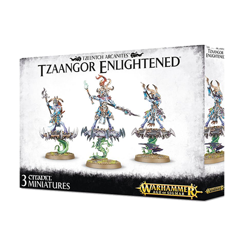 Warhammer: Tzeentch Arcanites - Tzaangor Enlightened