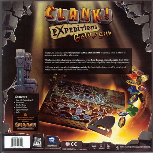 Clank! Expeditions: Gold and Silk - 1