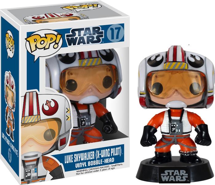 Funko Pop: Star Wars - Luke Skywalker X-Wing Pilot