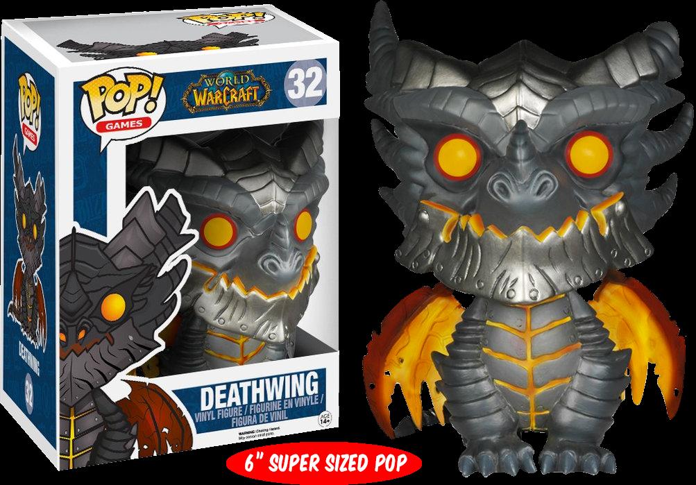 Funko Pop: Warcraft - Deathwing Super Sized