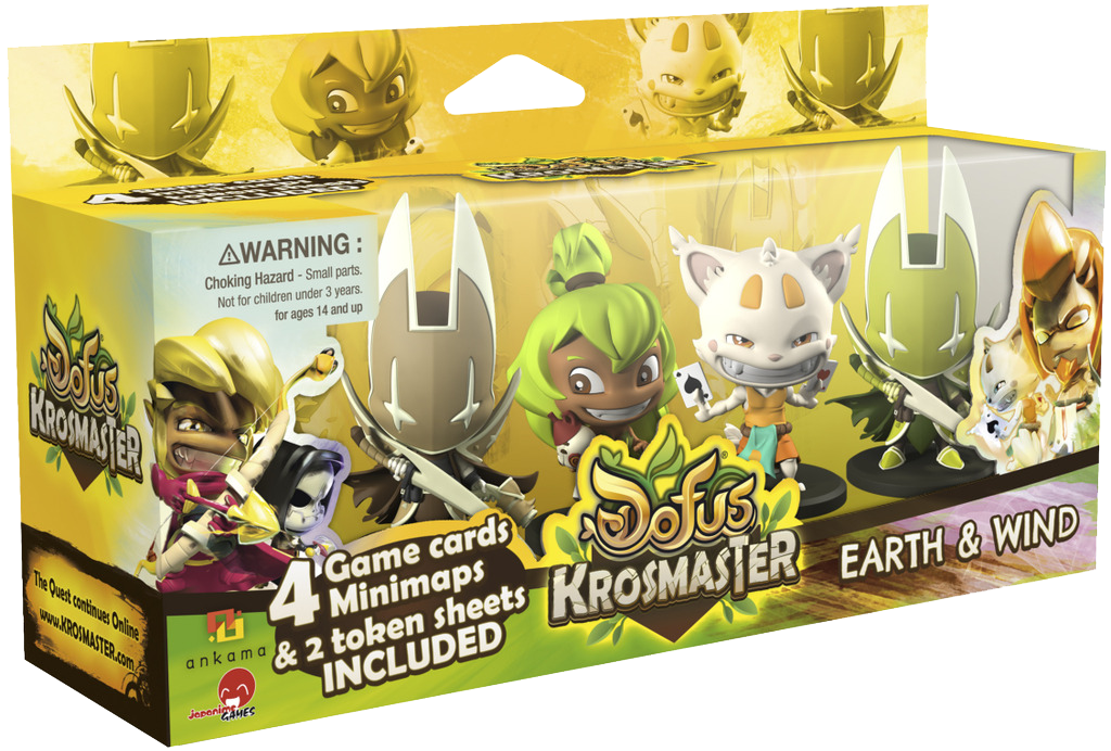 Krosmaster: Arena – Earth & Wind Expansion Pack