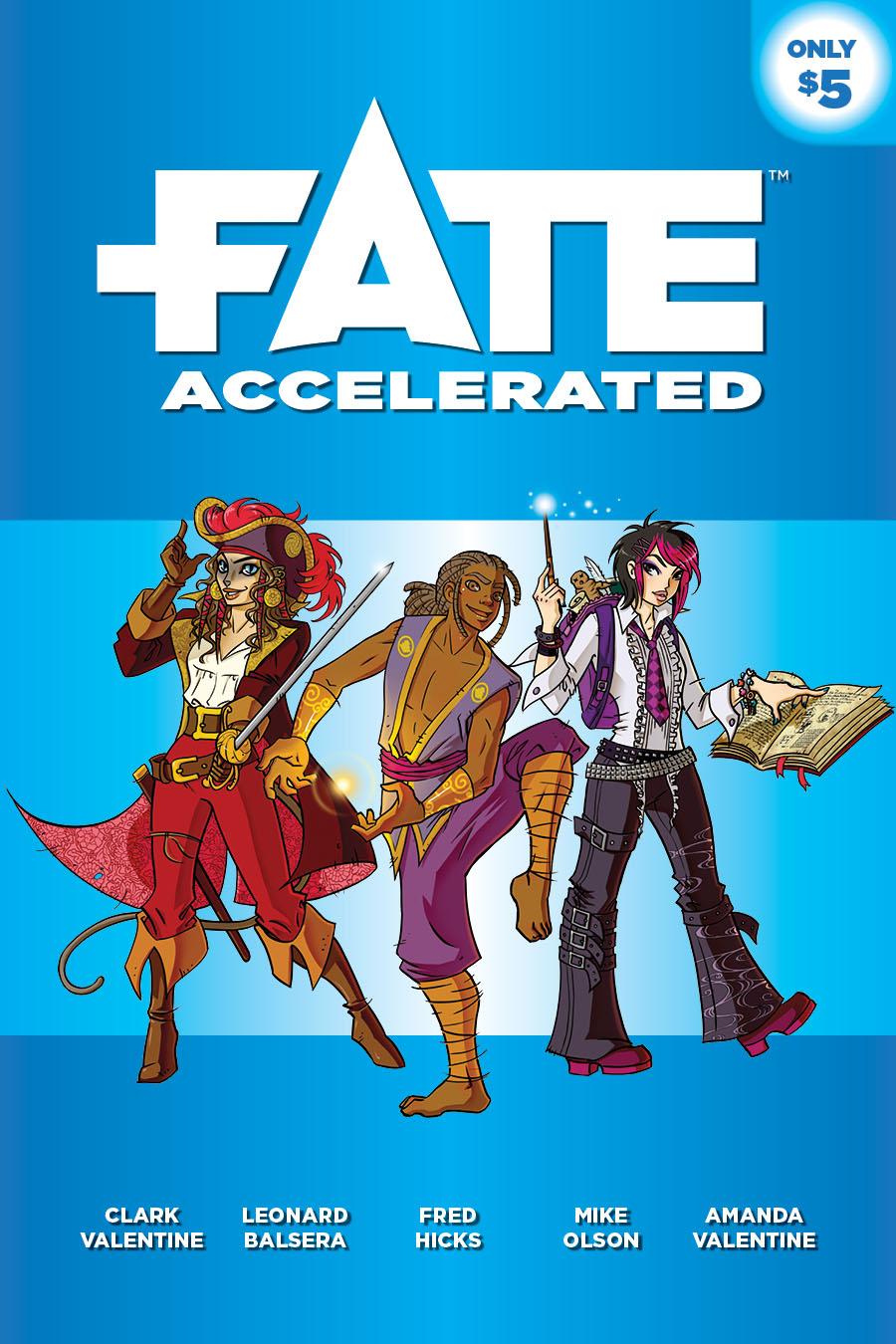 Fate RPG Accelerated
