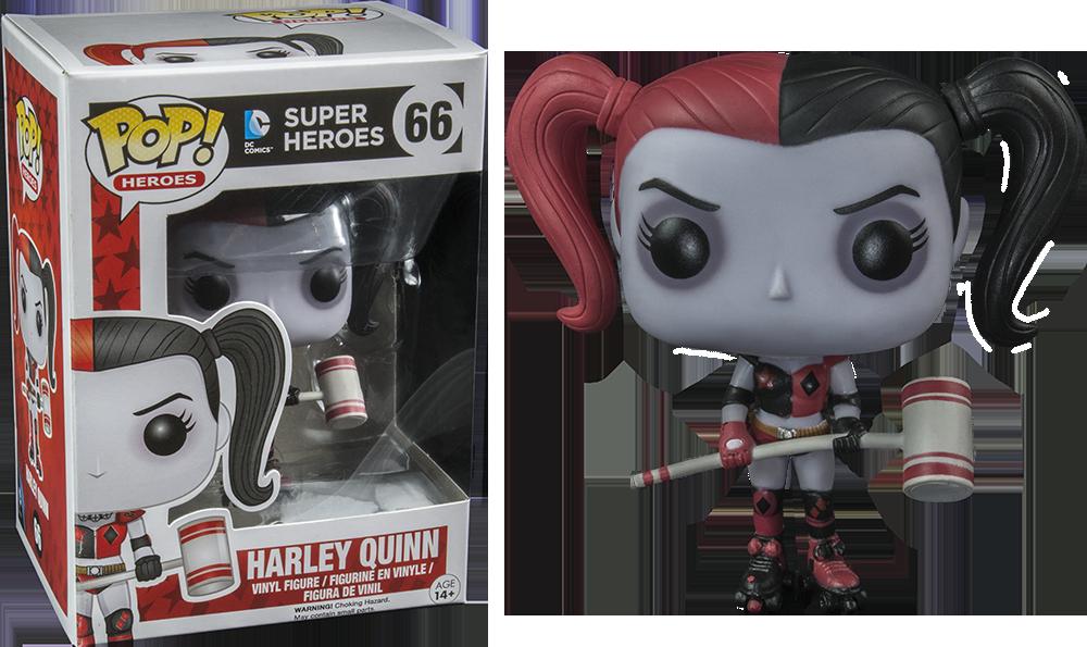 Funko Pop: Roller Derby - Harley Quinn