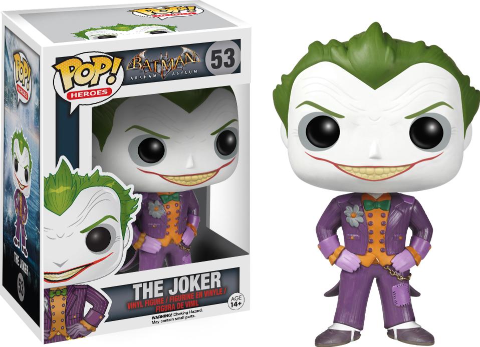 Funko Pop: Arkham Asylum - Joker