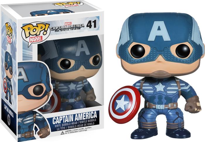 Funko Pop: Captain America - Captain America Winter Soldier