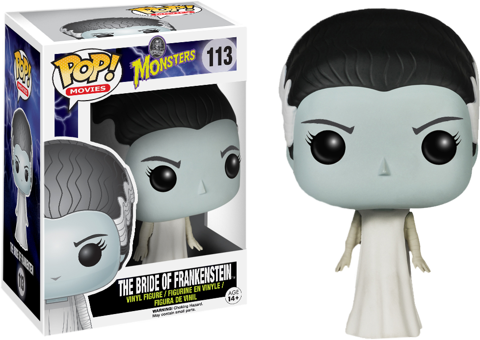 Funko Pop: Monsters - The Bride of Frankenstein