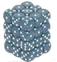 Set 36 zaruri d6 piperate Granit - 1