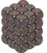 Set 36 zaruri d6 piperate Granit - 6