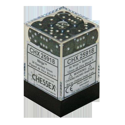 Set 36 zaruri d6 piperate Granit - 18