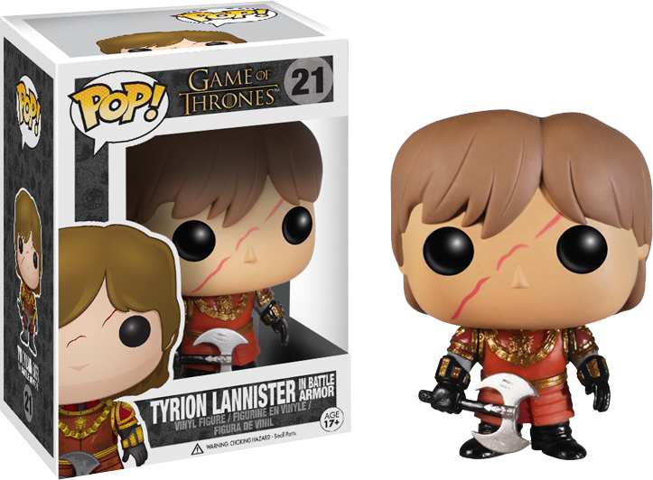 Funko Pop: Game of Thrones - Tyrion Lannister in Battle Armor imagine
