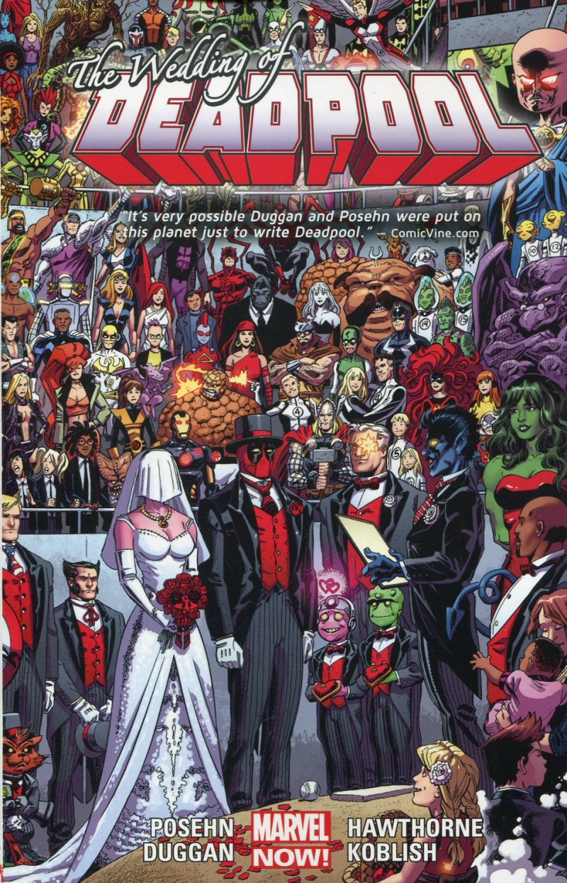 Deadpool TP Vol 05 Wedding of Deadpool (Now) imagine