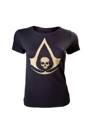 Assassin's Creed IV: Black Flag Logo - Damă M imagine
