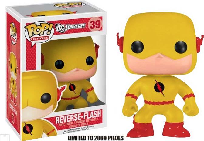 Funko Pop: Flash - Reverse Flash