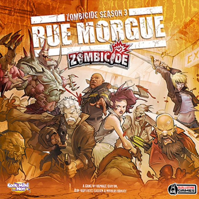 Zombicide Season 3: Rue Morgue imagine