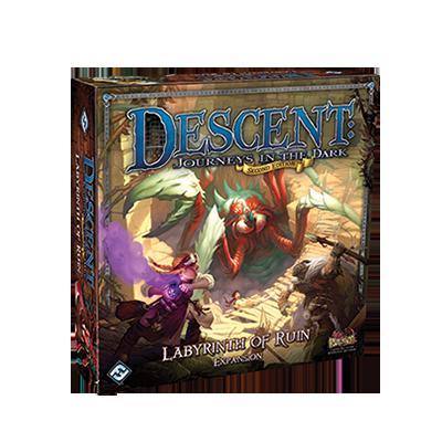 Descent: Journeys in the Dark (ediţia a doua) – Labyrinth of Ruin imagine