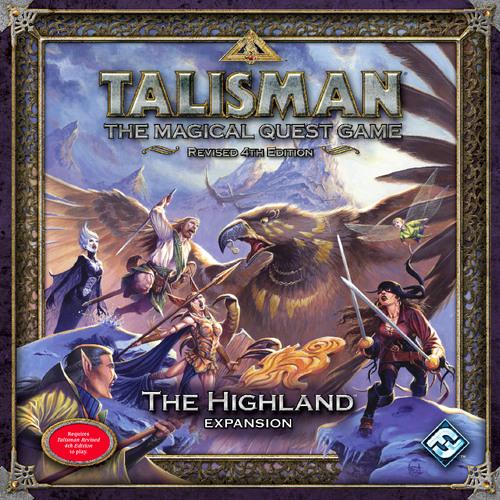 Talisman (ediţia a patra): The Highland Expansion imagine