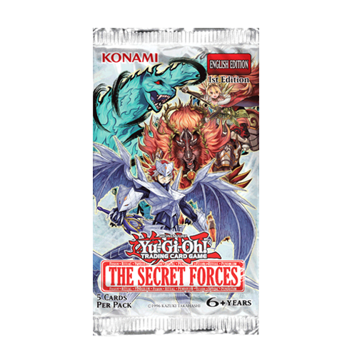 Yu-Gi-Oh!: The Secret Forces - Booster Pack imagine