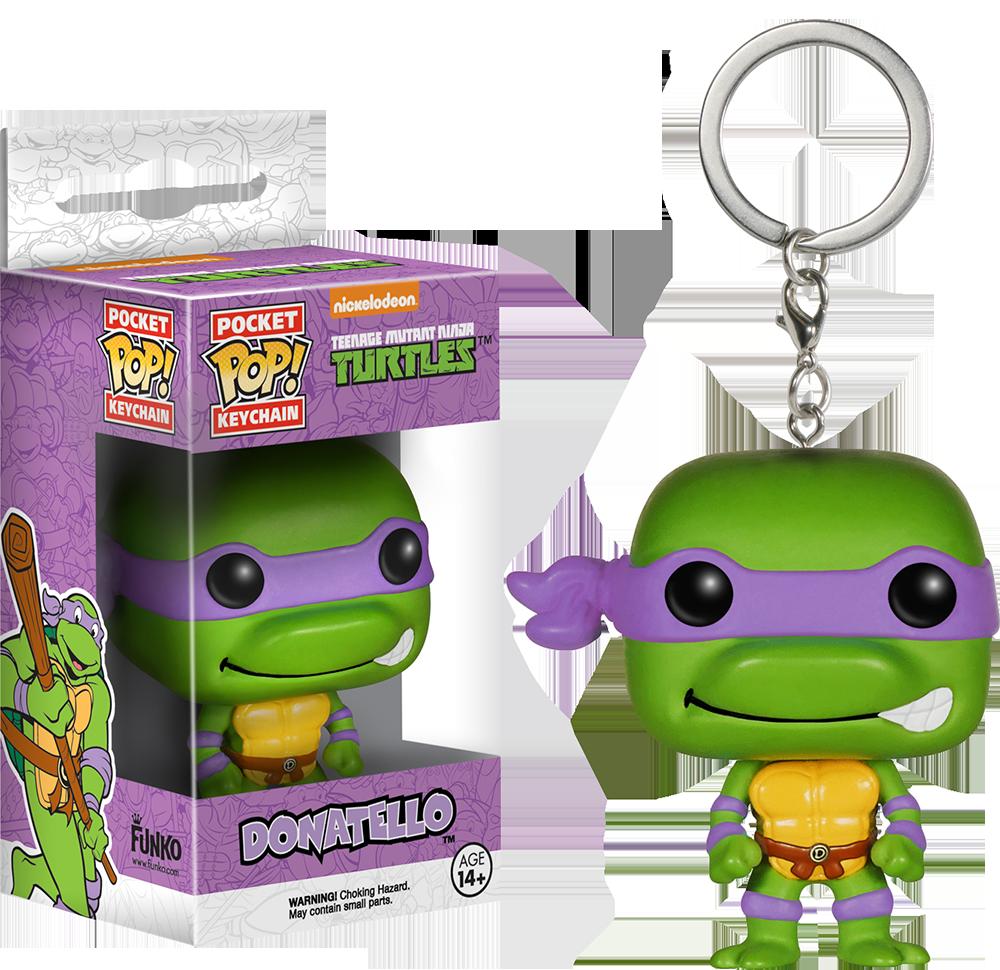 Breloc Funko Pop: Donatello