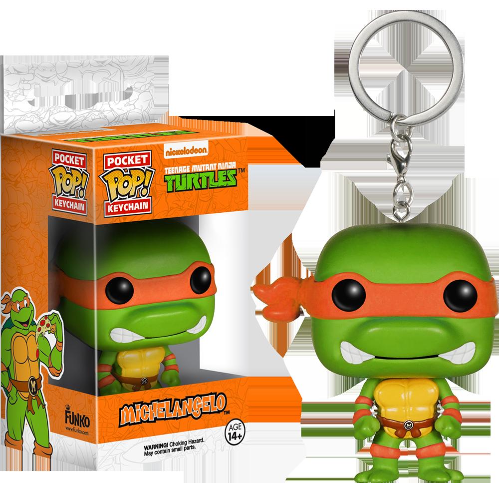 Breloc Funko Pop: Michelangelo