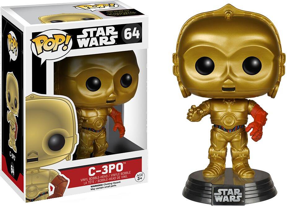 Funko Pop: Star Wars - C-3PO Force Awakens