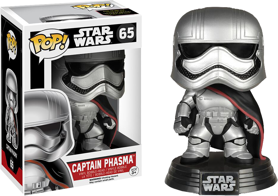 Funko Pop: Star Wars - Captain Phasma