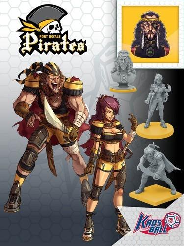 Kaosball: Team – Port Royale Pirates - 2