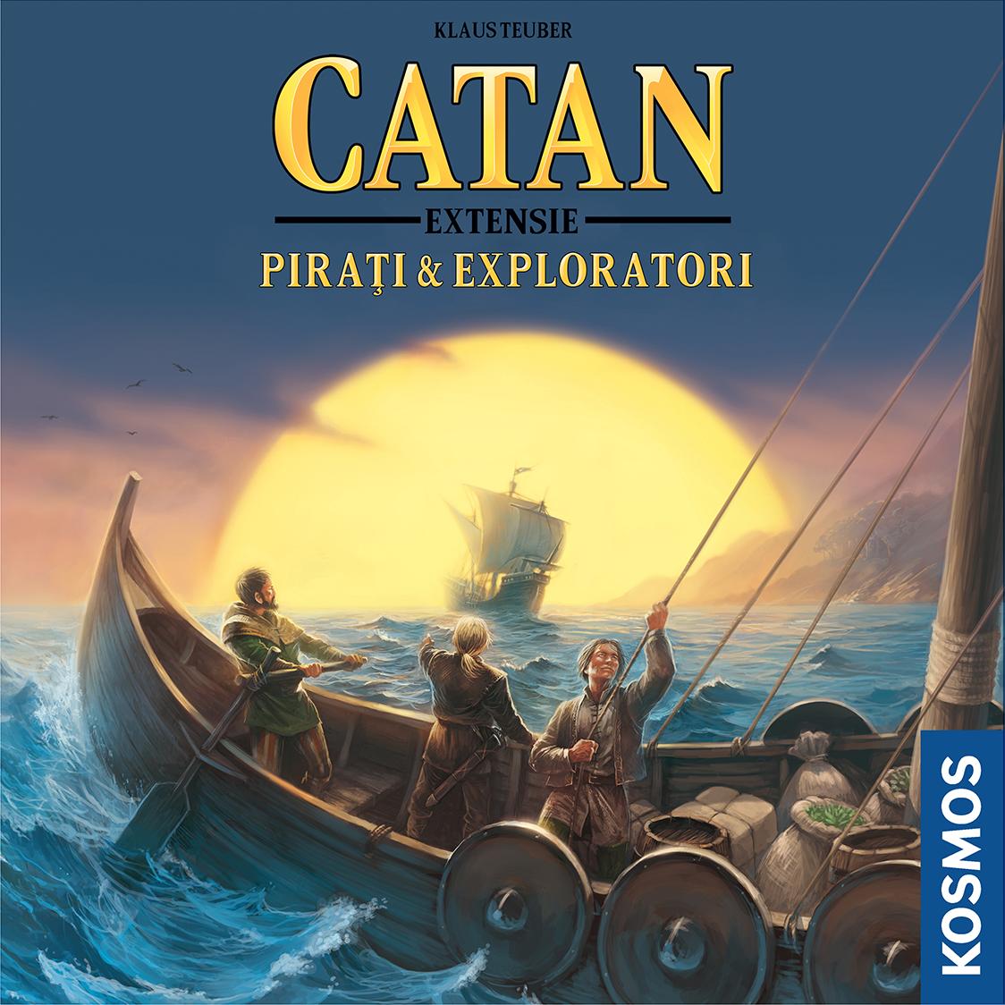 Catan: Pirați și Exploratori
