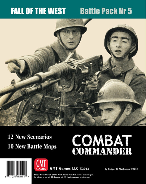 Combat Commander: Battle Pack 5 – The Fall of the West